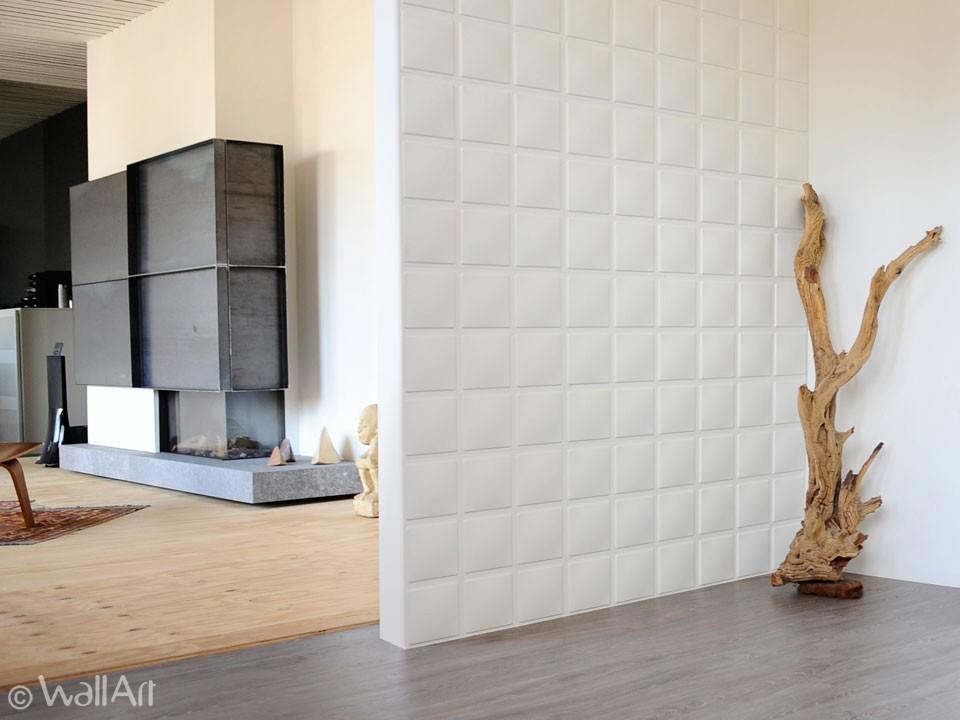 3d wall panels cubes design wallart for Panneau de decoration mural